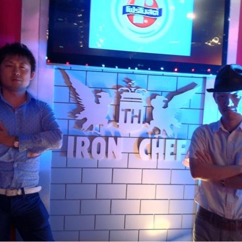 料理の鉄人に出ますよ(^^)。タイですが。